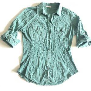 STANDARD JAMES PERSE Button Up Shirt Size 3